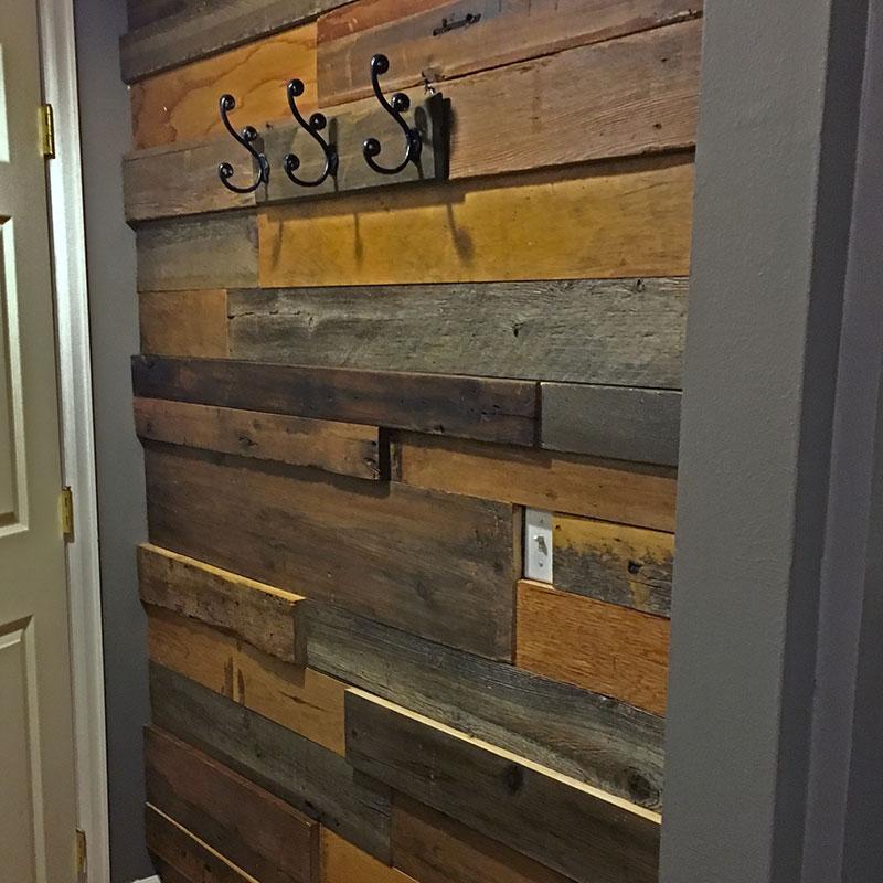 3-D Wood Wall
