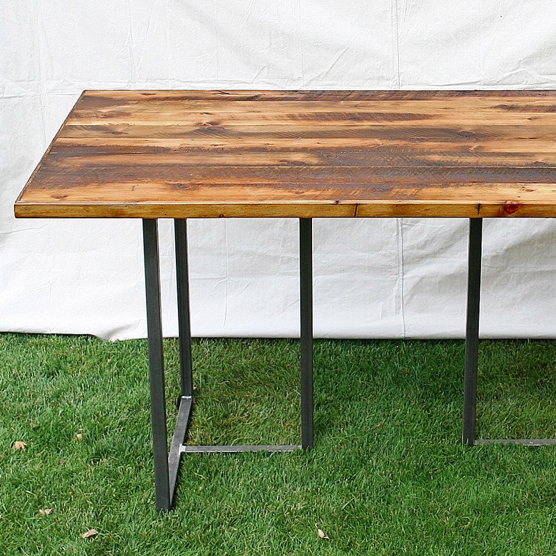 Bar Height Table with Welded 'T' Legs
