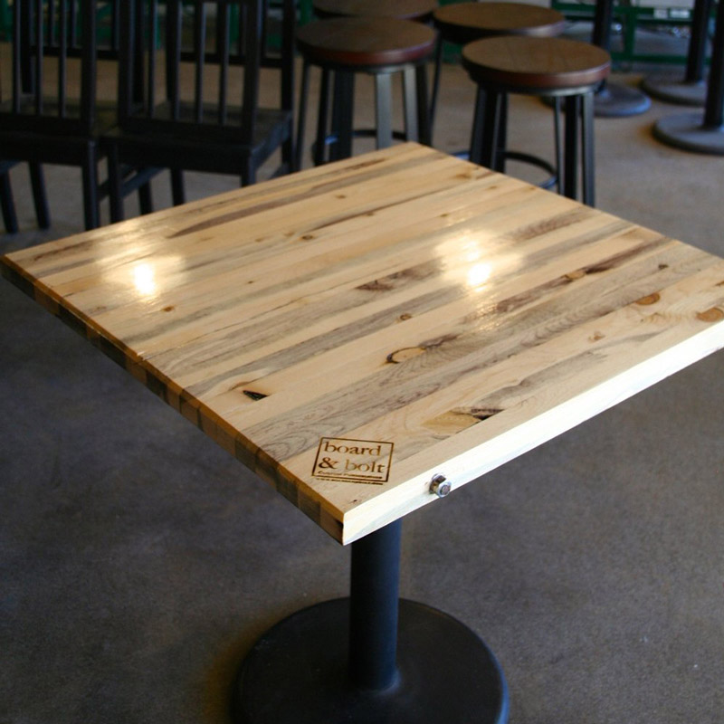 Butcher Block Restaurant Table