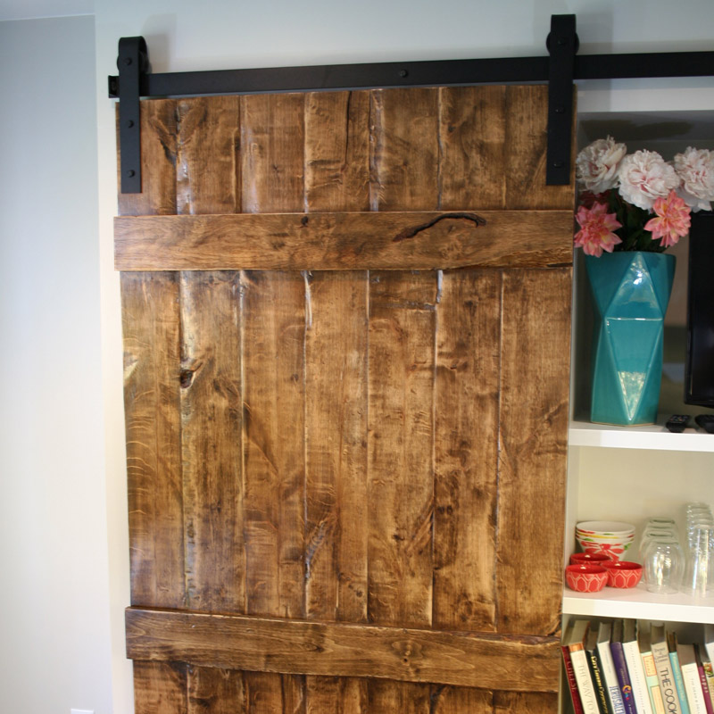 Old World Style Barn Door
