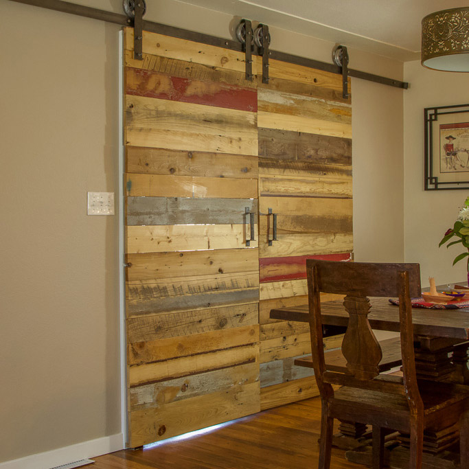 Patchwork Barn Door