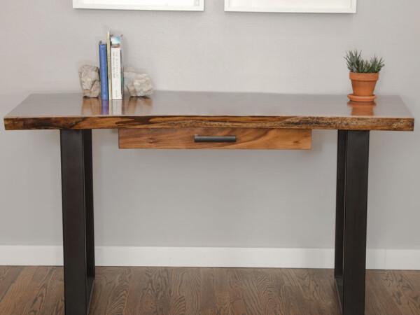 Madison wood desk by Board & Bolt near Denver, CO