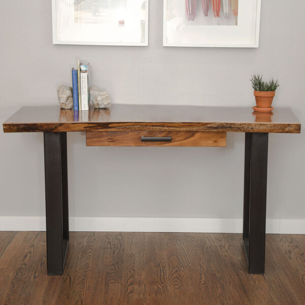 Madison wood desk by Board & Bolt near Denver, CO